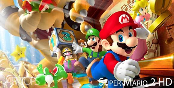 Super Mario 2 HD دانلود بازی سوپر ماریو قارچخور2