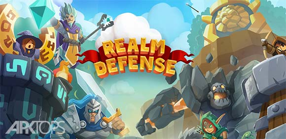 Realm Defense: Hero Legends TD v1.11.1 دانلود بازی دفاع از قلمرو