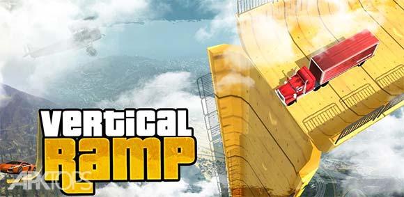 Vertical Ramp Impossible 3D دانلود بازی گذر غیر ممکن از رمپ های عمودی
