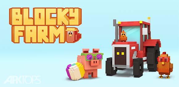 Blocky Farm دانلود بازی مزرعه ی بلوکی
