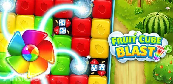 Fruit Cube Blast دانلود بازی معتادکننده انفجار میوه های مکعبی