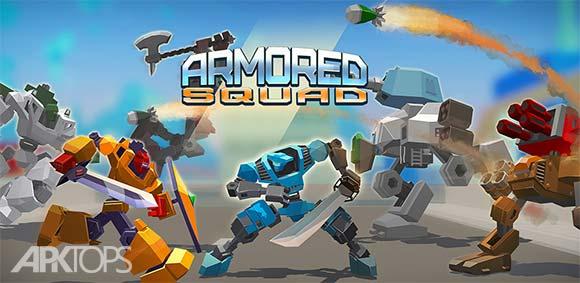 Armored Squad Mechs vs Robots دانلود بازی جوخه ی زرهی