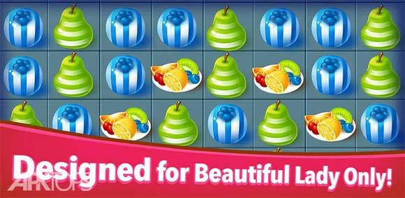Sweet Fruit Candy دانلود بازی شکلات های میوه ای شیرین