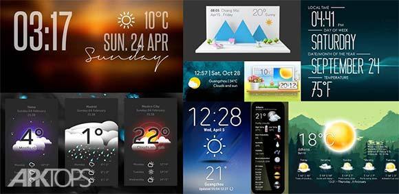 XWEATHER Free دانلود برنامه نمایش پیش بینی آب و هوا