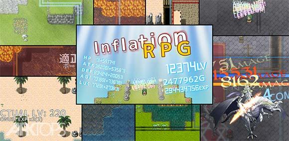 Inflation RPG دانلود بازی تورم