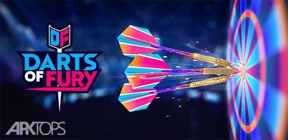 Darts of Fury دانلود بازی هیجان انگیز دارت های خشم