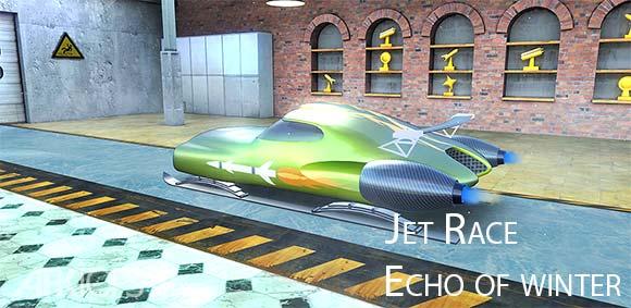 Jet Race Echo of winter دانلود بازی مسابقه ی جت اسکی