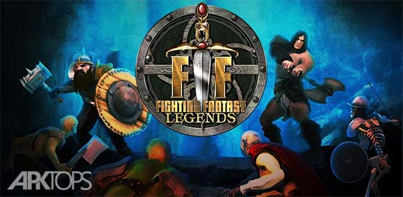 Fighting Fantasy Legends دانلود بازی مبارزه با افسانه های فانتزی