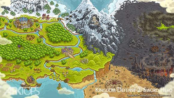 Kingdom Defense 2 Sword Hero دانلود بازی دفاع از پادشاهی2