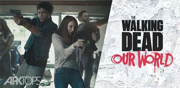 The Walking Dead Our World دانلود بازی مردگان متحرک دنیای ما