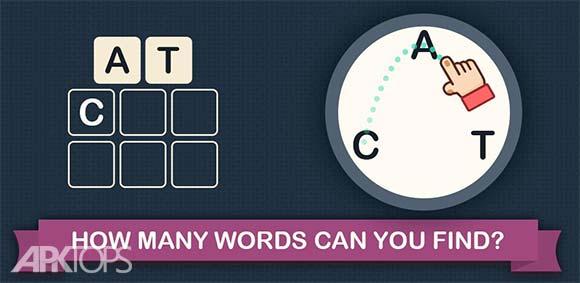 Letter Peak Word Search Up دانلود بازی چینش کلمات