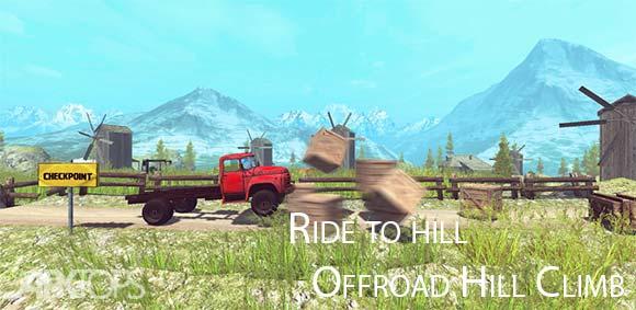 Ride to Hill Offroad Hill Climb دانلود بازی سواری خارج از جاده با ماشین های سنگین