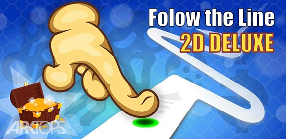 Follow the Line 2D Deluxe دانلود بازی معتاد کننده خط رو دنبال کن