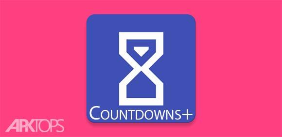 Countdowns+ دانلود برنامه نمایش شمارش معکوس