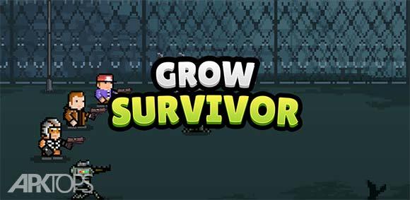 Grow Survivor Dead Survival دانلود بازی رشد بازماندگان