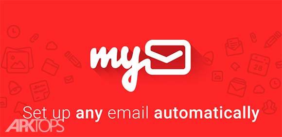 myMail Email for Hotmail Gmail and Outlook Mail دانلود برنامه مدیریت ایمیل ها