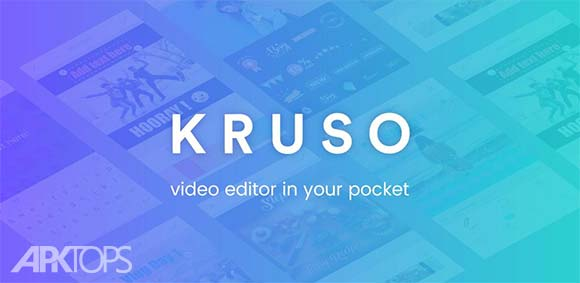Story Video Editor music stickers Kruso دانلود برنامه ساخت استوری با فیلم عکس و استیکر