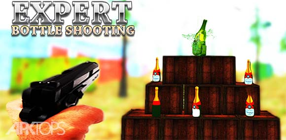 Bottle Shooting Training FPS Gun Shooter دانلود بازی آموزش تیر اندازی به بطری