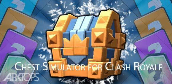 Chest Simulator for Clash Royale دانلود بازی شبیه ساز صندوق برای کلش رویال