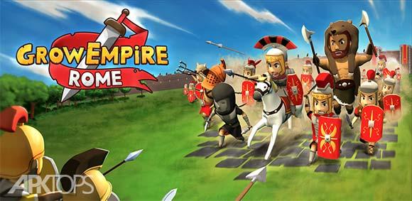 Grow Empire Rome دانلود بازی توسعه ی امپراتوری روم