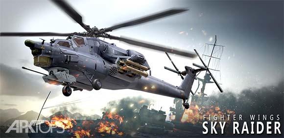 Fighter Wings Sky Raider دانلود بازی بال های جنگنده