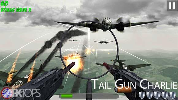 Tail Gun Charlie دانلود بازی اسلحه ی ضد هوایی چارلی