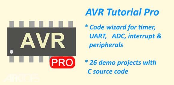 AVR Tutorial Pro v1.8.0 آموزش نرم افزار مهندسی الکترونیک AVR