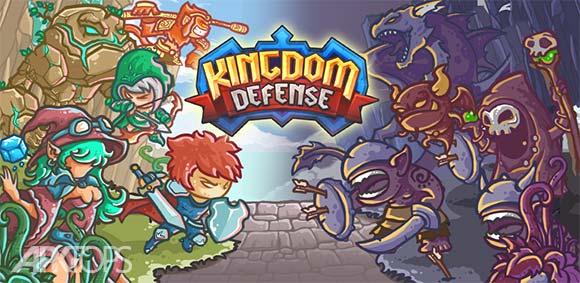 Kingdom Defense Hero Legend TD دانلود بازی دفاع از پادشاهی افسانه قهرمانان