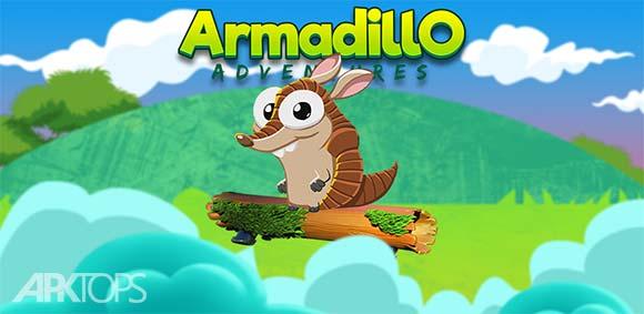 Armadillo Adventure Brick Breaker دانلود بازی ماجراجویی آرمادیلو