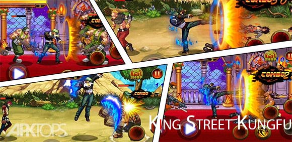 King Street Kungfu دانلود بازی پادشاه کونگ فوی خیابانی