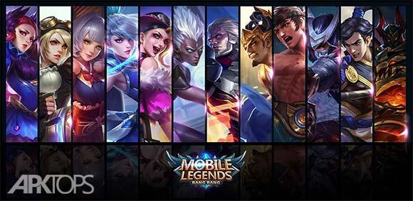 Mobile Legends Bang bang دانلود بازی فوق العاده افسانه های موبایلی