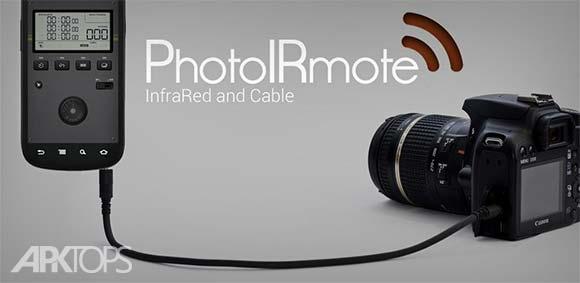 PhotoIRmote دانلود برنامه ریموت دوربین های حرفه ای