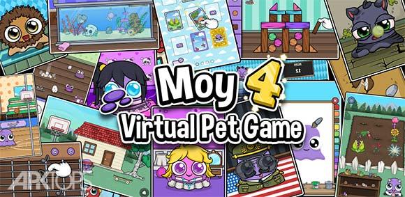 Moy 4 Virtual Pet Game دانلود بازی موی4 حیوان خانگی مجازی