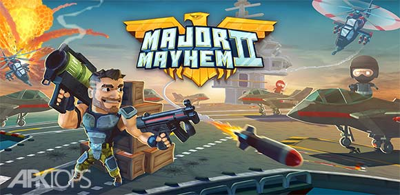 Major Mayhem 2 Action Arcade Shooter دانلود بازی ضرب و شتم بزرگ2