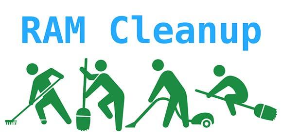 RAM Cleanup دانلود برنامه پاک سازی حافظه رم