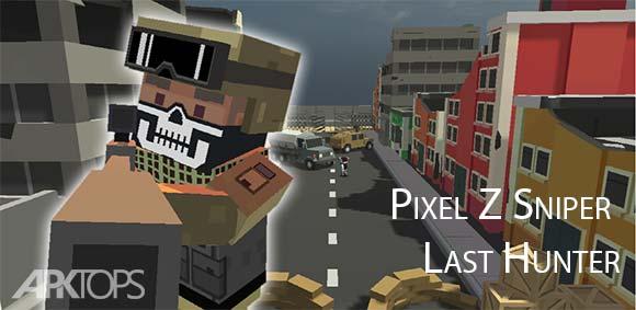 Pixel Z Sniper Last Hunter دانلود بازی تک تیرانداز زد آخرین شکارچی