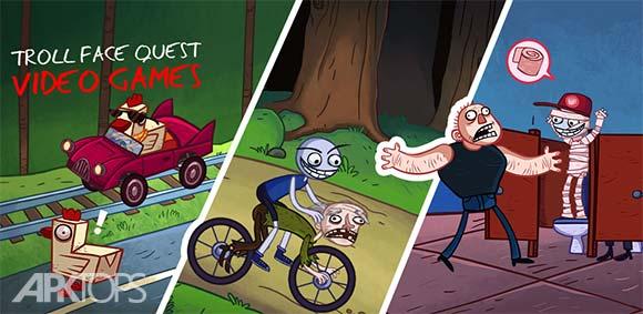 Troll Face Quest Video Games دانلود بازی جستجوی صورت های ترول