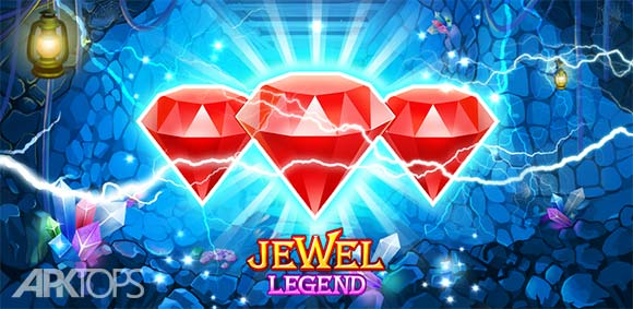 Jewels Legend Match 3 Puzzle دانلود بازی افسانه جواهرات