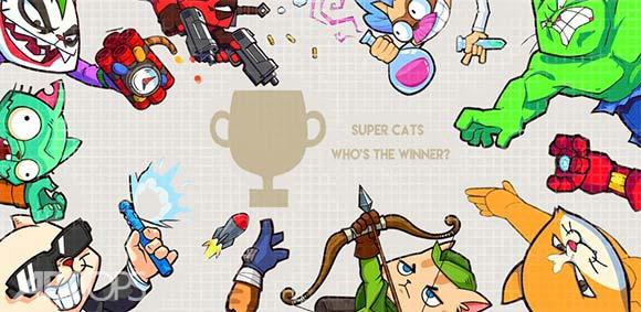 Super Cats دانلود بازی گربه های قهرمان