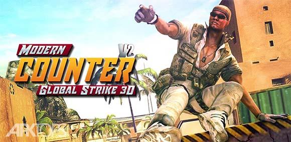 Modern Counter Global Strike 3D V2 دانلود بازی کانتر مدرن نبرد جهانی