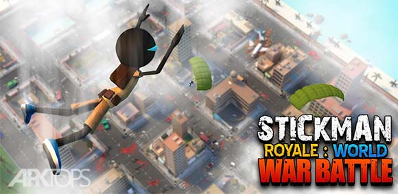 Stickman Royale World War Battle دانلود بازی استیکمن رویال نبرد در جنگ جهانی