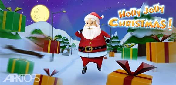 Running With Santa Xmas Run دانلود بازی دویدن با سانتا در کریسمس