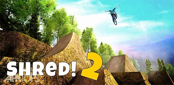 Shred 2 Freeride Mountain Biking دانلود بازی دوچرخه سواری آزاد در کوهستان2