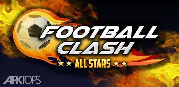 Football Clash All Stars دانلود بازی مسابقه فوتبال