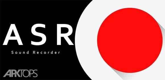 ASR Free MP3 voice and audio recorder دانلود برنامه ضبط صدا