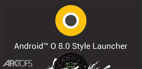 O Launcher 8.0 for Android O Oreo Launcher دانلود برنامه لانچر اندروید اُ