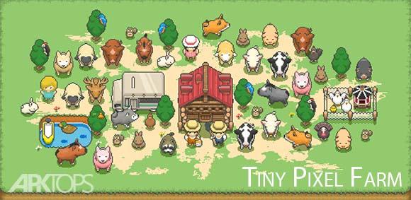 Tiny Pixel Farm Simple Farm Game دانلود بازی مزرعه کوچک پیکسلی