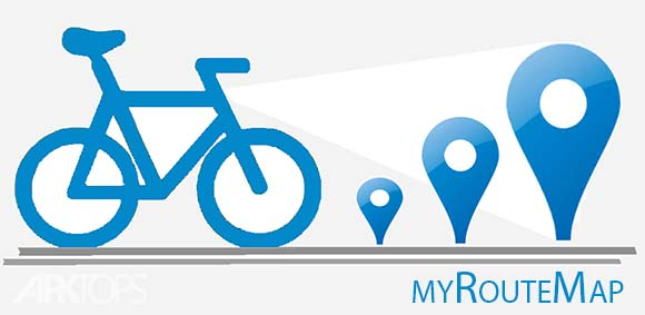 myRouteMap دانلود برنامه نقشه ی مسیر من