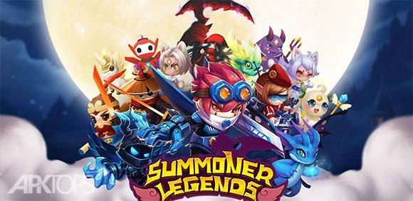 Summoner Legends RPG دانلود بازی افسانه دعوت کننده ها