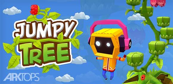 Jumpy Tree دانلود بازی جذاب پرش روی درخت ها